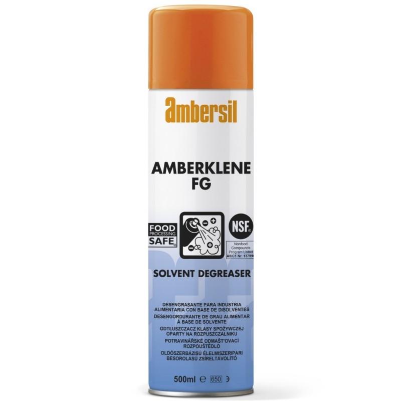 AMBERKLENE FG środek czyszczący dopuszczony do użycia przy urządzeniach przetwarzania i pakowania żywności.