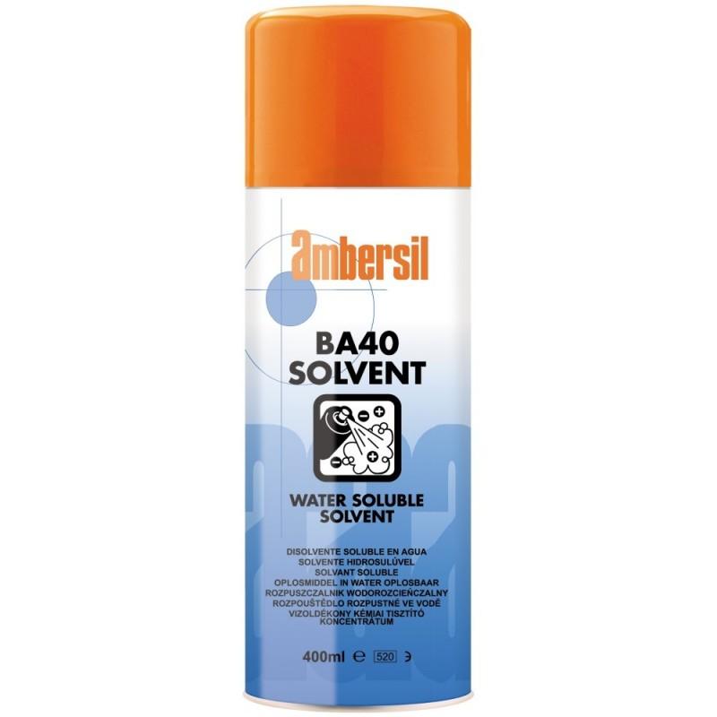 Ambersil BA40 rozpuszczalnik do usuwania klejów, tuszów, lakierów, żywic.