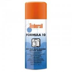 Formula 10 - bezsilikonowy, suchy środek rozdzielający do form wtryskowych stosowany do tworzyw termoutwardzalnych.